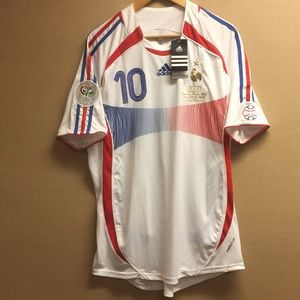 Zidane France 2006 World Cup Jersey
